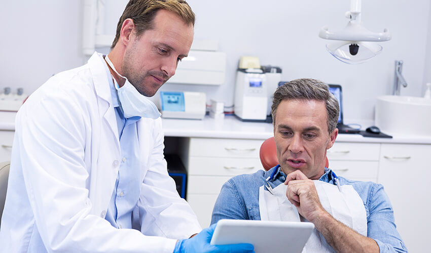 Oral cancer screening procedure